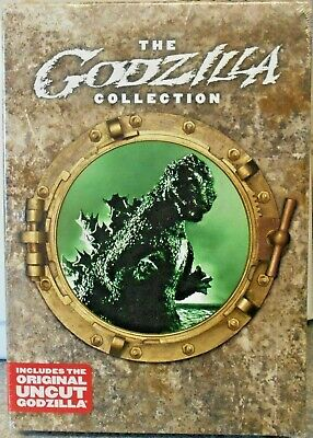 Godzilla Collection DVD 2007 8-Disc Set 1 & 2 UNCUT 100% ORIGINAL AND NOT A COPY