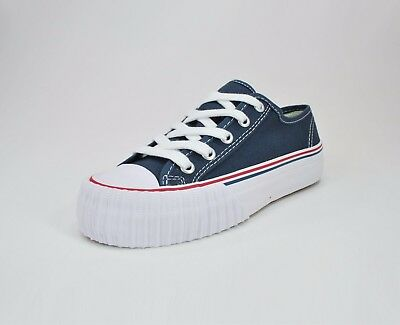 025674f756 PF-Flyer Men s Shoes Center Lo Reissue Navy White Sneakers MC1002NV  1655