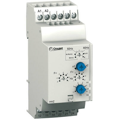 Crouzet 84872501 HSV Frequency Monitoring Relay