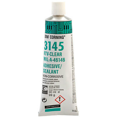Dow Corning® RTV 3145 Silicone Sealant Clear 90ml