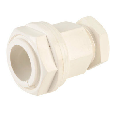 Elkay 2519397W 7-10.5mm M20 White Cable Gland