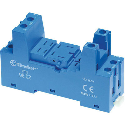 Finder 96.02 96 Series Relay Socket for Series 56.32 Relays