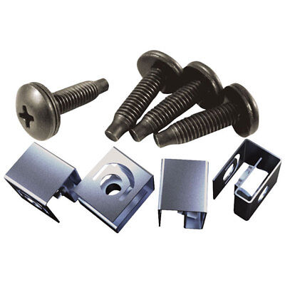 Hammond 10-32 Mounting Screw & Clip Nut Pack of 50