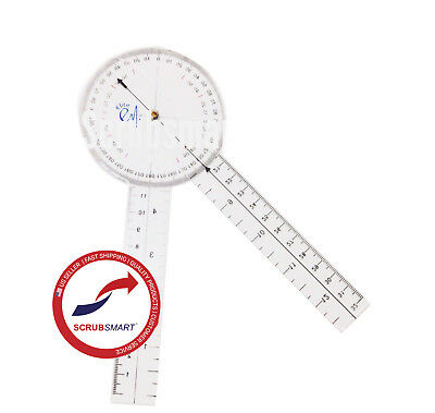 US seller FAST Shipping! Brand New Protractor Goniometer 8 inch
