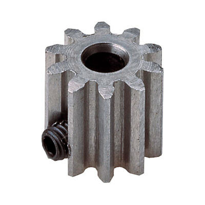 Modelcraft Steel Pinion Gear 15 Tooth with Grubscrew 0.8M