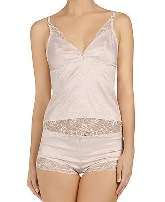 Pleasure State FIONA GRACE CAMISOLE / French Knicker SMALL Rose Smoke  Rrp $180