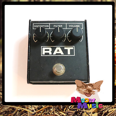 Vintage 1993 ProCo Rat 2 Guitar Effects Pedal - LM308 - Rat II - FREE SHIPPING!!