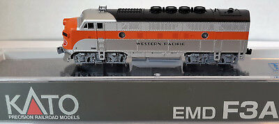 N Scale KATO F3A 'Western Pacific' DCC Ready Item #176-1202