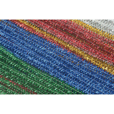 RVFM Tinsel Pipe Cleaners Assorted - Pack of 100