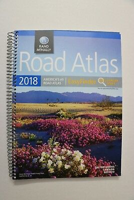 2018 Road Atlas Midsize Easy Finder - Spiral-bound by Rand McNally