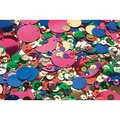 RVFM Assorted Sequins Bag of 500g