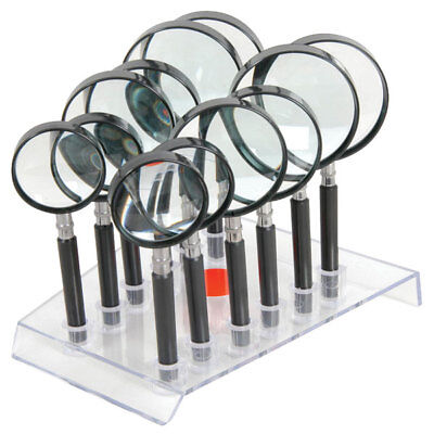 RVFM 12 Piece Magnifier Set with Stand