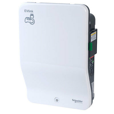 Schneider Electric EVH2S7P04K 7.4kw Charger with Type 2S Shuttered Socket