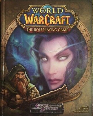 World of Warcraft the Roleplaying Game Sword & Sorcery 2005 Hardcover Book