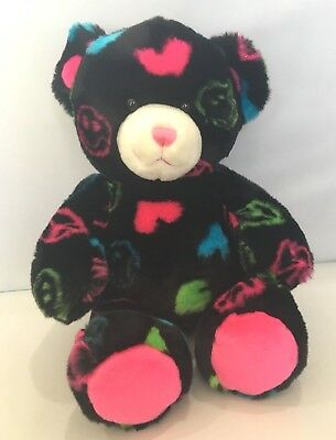 New Dark Neon Peace Limited Edition Extremely Rare Build A Bear Bab