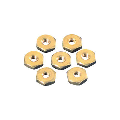 Toolcraft Brass Hexagonal Nuts DIN 934 M3 Pack Of 100