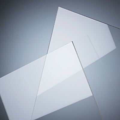 Clear Acrylic Perspex Sheet Custom Cut To Size Panels Plastic Panel