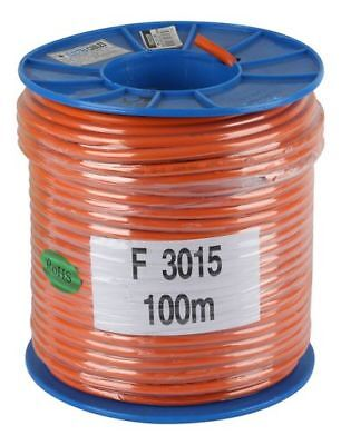 3 CORE Flex ORANGE 15 amp - 1.5MM MAINS ELECTRICAL CABLE X 100 METRES for leads