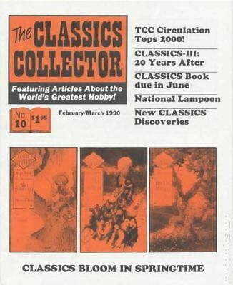 Classics Collector #10 1990 FN+ 6.5 Stock Image