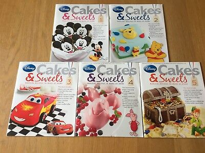 Disney Cakes and Sweets Magazine Issues 1-5