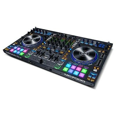 Denon MC7000 4 Deck Controller + 4Ch Digital Mixer + Full Serato Dj Software