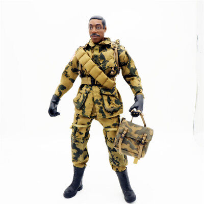 1/6 Scale Uniforms Coveralls Suit Woodland camo+ Backpack B005 82nd Airborne