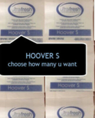 Hoover S Vacuum Bags by Ultra Fresh Type S CHOOSE HOW MANY YOU WANT