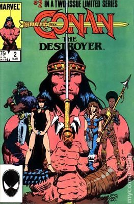 Conan the Destroyer (Movie Comic) #2 1985 FN Stock Image
