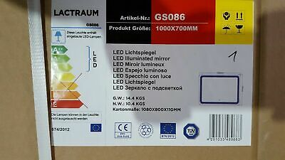 Lactraum GS086 Led Lichtspiegel