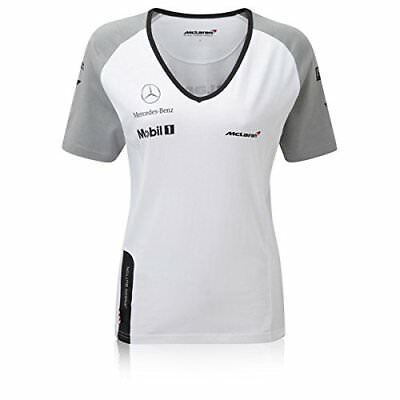 T-SHIRT Replik Team Wear Damen Formel Formula Team McLaren F1 Button 2014 XS DE