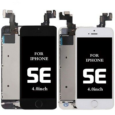 OEM For Iphone SE Complete Touch Screen Replacement LCD Digitizer +Home Button