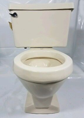 Marvelous New Old Stock Eljer Toilet Bowl And Tank Peach Bisque Uwap Interior Chair Design Uwaporg