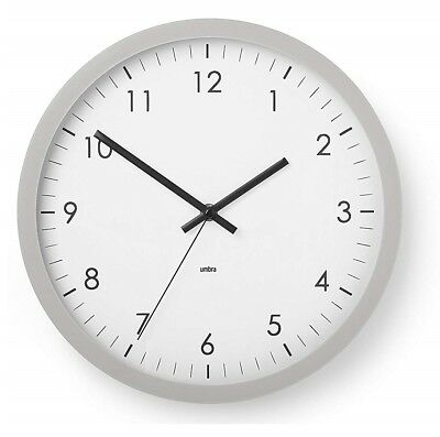 """Wall Clock Large Decorative Universal Non Ticking Silent 12/"""" Wholesale Pack of 8"""