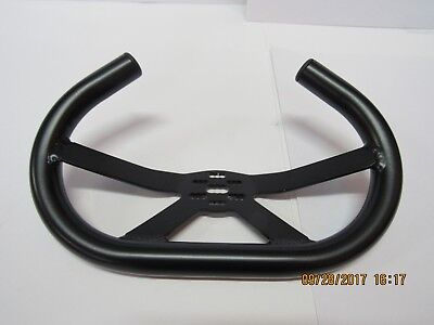 Go-Kart Steering Wheel with 35 Degree Tilt Wheel