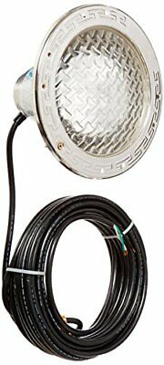 Amerlite Underwater Incandescent Pool Light with Stainless Steel Face Ring, 120