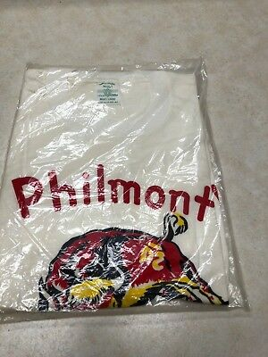 Rare 1960s Sealed Philmont Boy Scout Ranch T-Shirt Bull BSA - Size Large