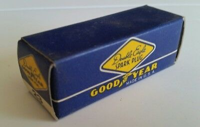 GOODYEAR Double Eagle Spark Plug #23 NOS Vintage in Original Box