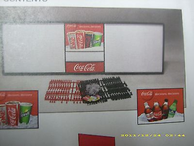 L@@K Huge New Coca-Cola 6ft Menu Board Sign w/6 sets of letters & numbers!