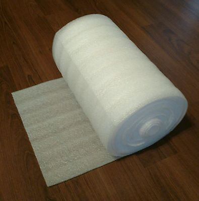 "1/8"" x 12"" wide PE foam roll  / 25'-100' lengths / foam wrap/ packaging foam"