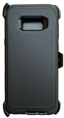 S8/9 Defender Case & Belt Clip for Samsung Galaxy Phone (Holster Fits Otter Box)