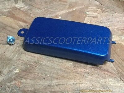 Honda Scrambler CL90 CS90 S90 1964-1969 S110 battery side BLUE COVER  H2385
