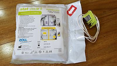 Zoll Stat Padz II  Multi-Function Electrodes AED Pads 8900-0801-01