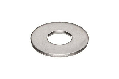 Stainless Steel #8 Flat Washer / Box of 100