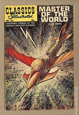 Classics Illustrated 163 Master of the World #1 1961 VG 4.0
