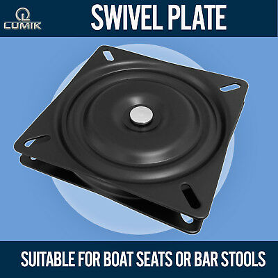 360 Degree Ball Turntable Bearing Square Swivel Steel Plate Chair Boat Seat
