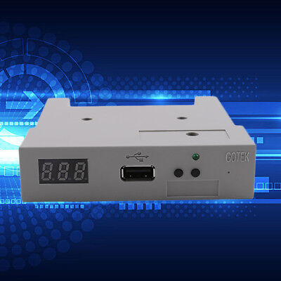 """3.5"""" Floppy Disk Drive to USB emulator Simulation For Musical Keyboard 1.44MB F7"""