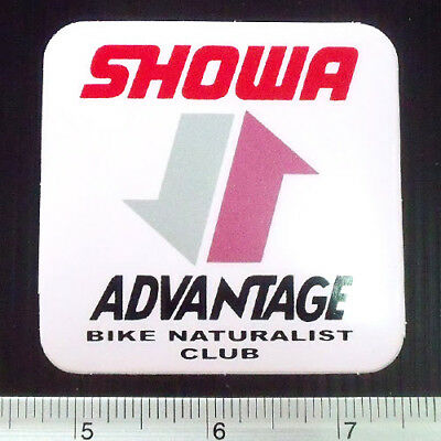 Showa Yamaha Racing Car Sticker Reflect Light RBE 1x5.5/""