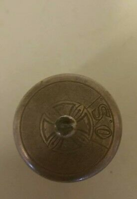 Antique Sterling Snuff/pill Box Very Nicely Made