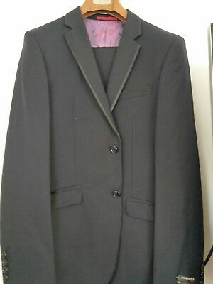 mens Black suit