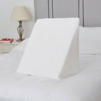 Body Support Foam Bed Wedge with Removable Quilted Cover Reclining Recovery Aid